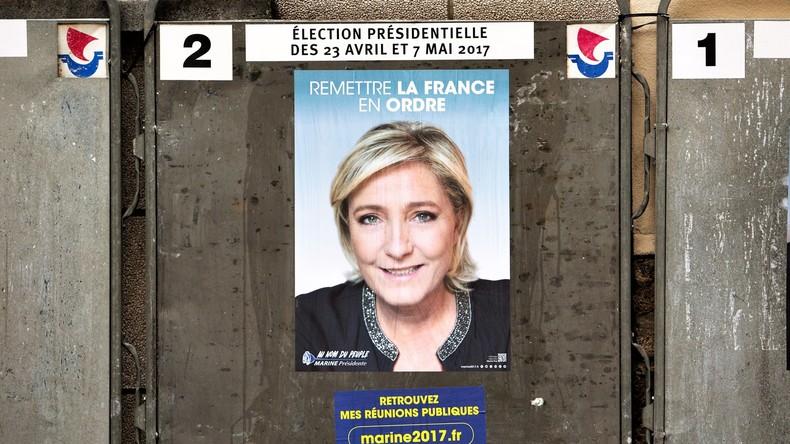 Le Pen legt vorübergehend Vorsitz des Front National nieder