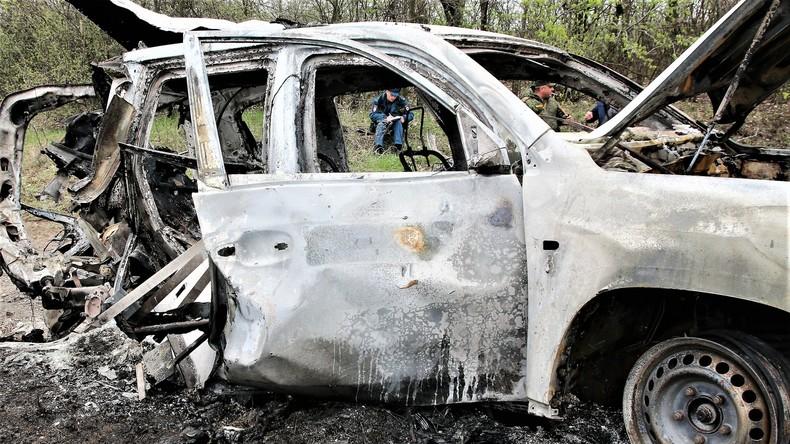 Lugansk: OSZE von der Route abgewichen, Bundesregierung sieht Russland in Verantwortung