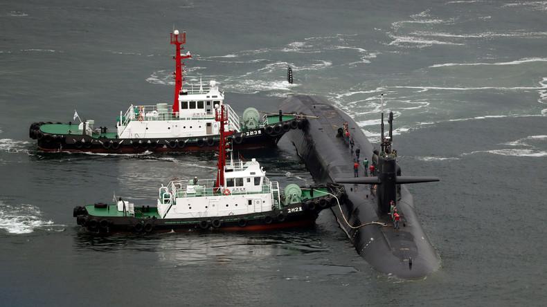 USA entsenden Atom-U-Boot nach Südkorea