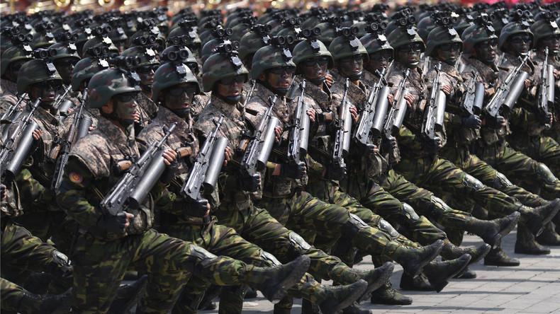 Nordkorea feiert 85. Jahrestag der Armee mit großangelegter Artillerie-Übung