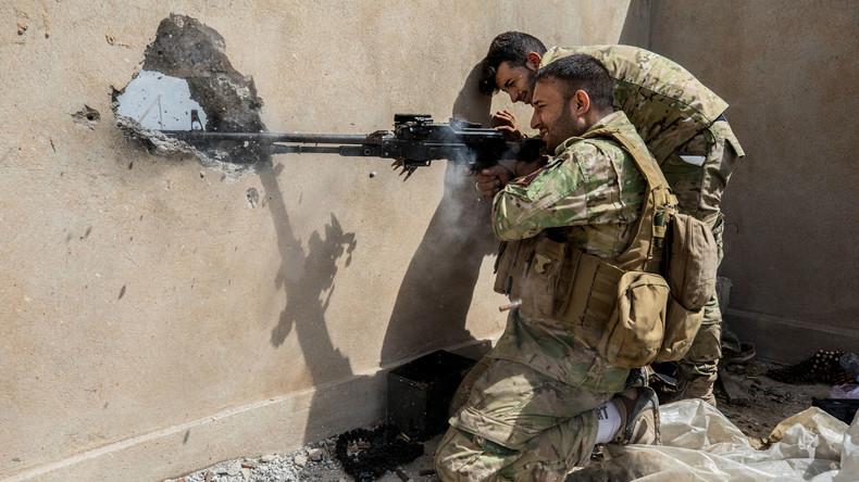 Irakische Soldaten vertreiben IS-Terroristen aus größtem Bezirk West-Mossuls