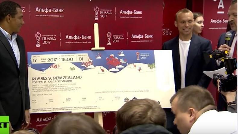 Fußball, Fans und Leidenschaft: Ticketverkauf für Confederations Cup in Russland gestartet