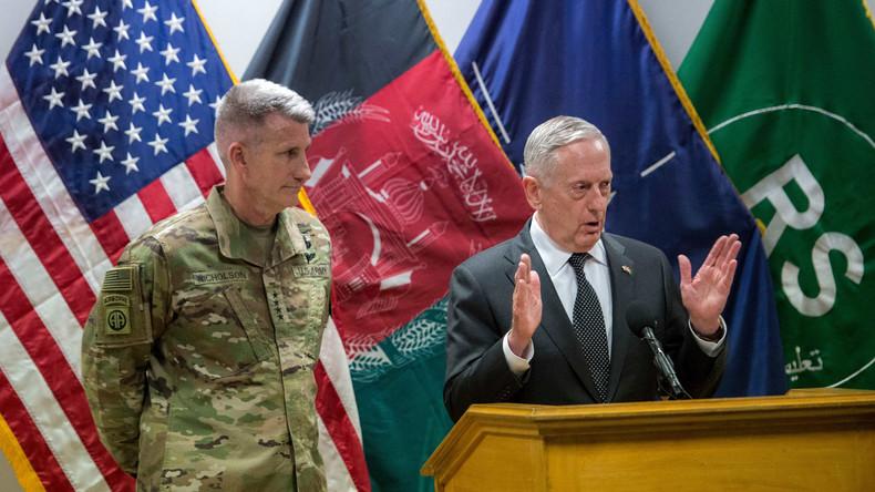 """US-Verteidigungsminister Mattis überraschend in Afghanistan - """"Russland bewaffnet die Taliban"""""""