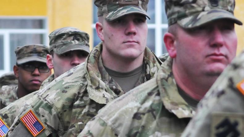 US-Militärausbilder treffen im Donbass ein