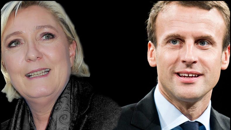 Umfrage: Deutsche Investoren setzen fest auf Macrons Sieg bei Stichwahl in Frankreich
