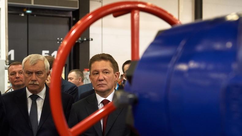 Gazprom plant Fortsetzung des Gas-Transits über Ukraine nach Inbetriebnahme von Nord Stream 2