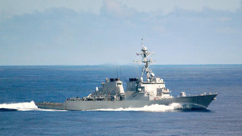 US-Zerstörer weicht im Persischen Golf iranischem Boot aus