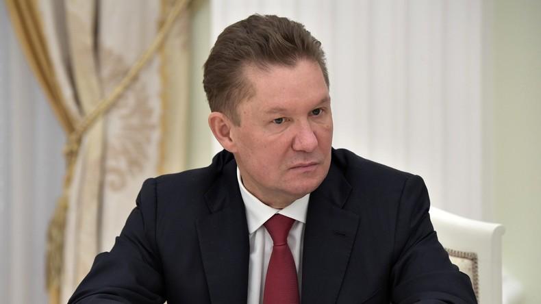Gazprom-Chef sieht weiter wachsende russische Bedeutung auf europäischem Gasmarkt