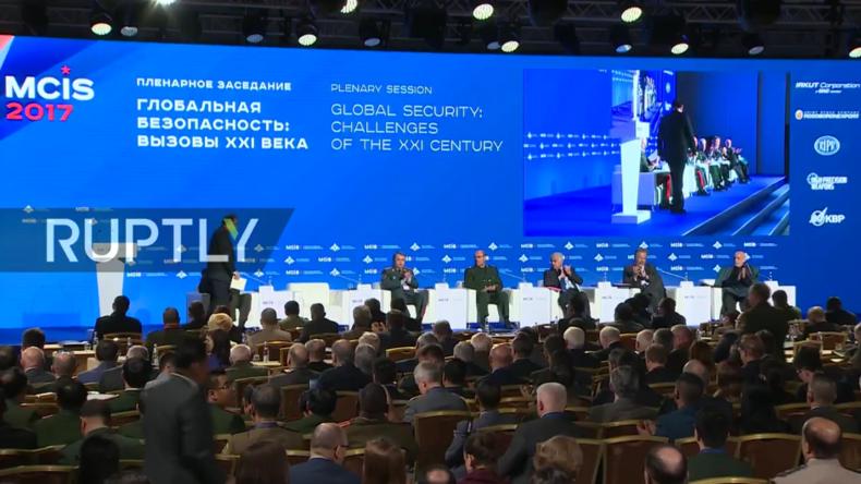 Live: Sechste Moskauer Konferenz über internationale Sicherheit - Plenarsitzung