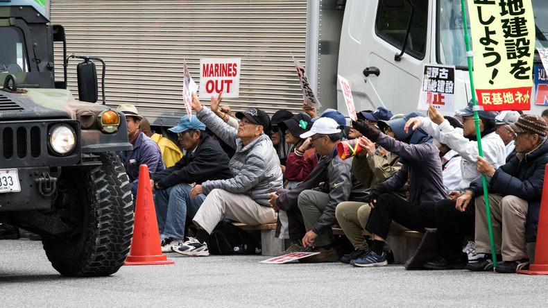 Japan: Auf Okinawa beginnt die US-Armee, einen neuen Stützpunkt zu bauen