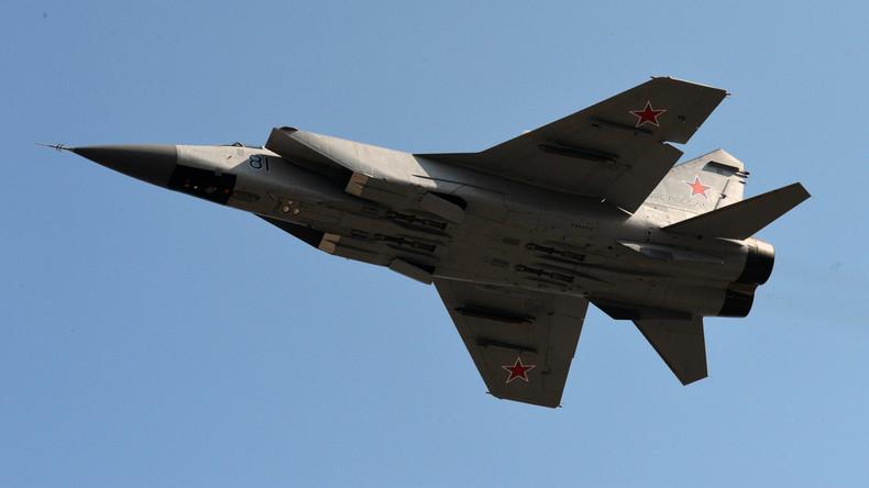 Abfangjäger MiG-31 in Burjatien abgestürzt