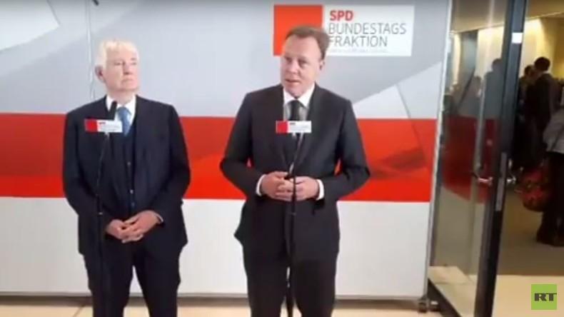 Pressestatement von Thomas Oppermann und Otto Schily (SPD): Ein Einwanderungsgesetz für Deutschland