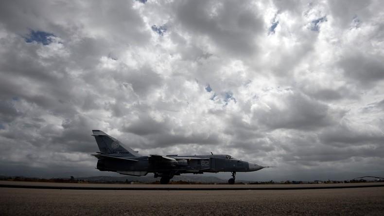 Generalstab: Russland zieht halbe Luftwaffengruppe vom Stützpunkt Hmeimim ab