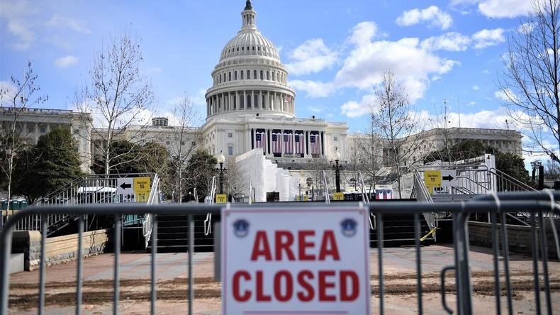 USA: Aus Protest mit Gyrocopter auf den Rasen des US Kapitols
