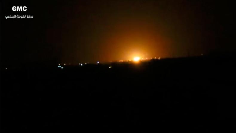 Schwere Explosionen am Flughafen in Damaskus
