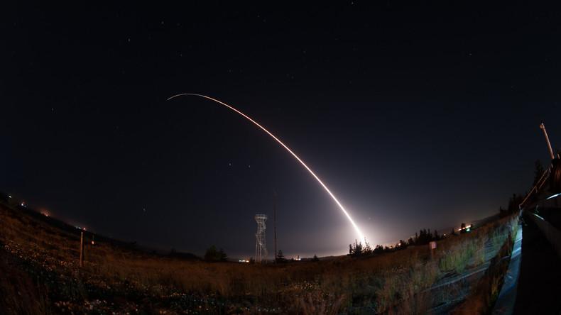 USA testen ballistische Interkontinentalrakete vom Typ Minuteman III