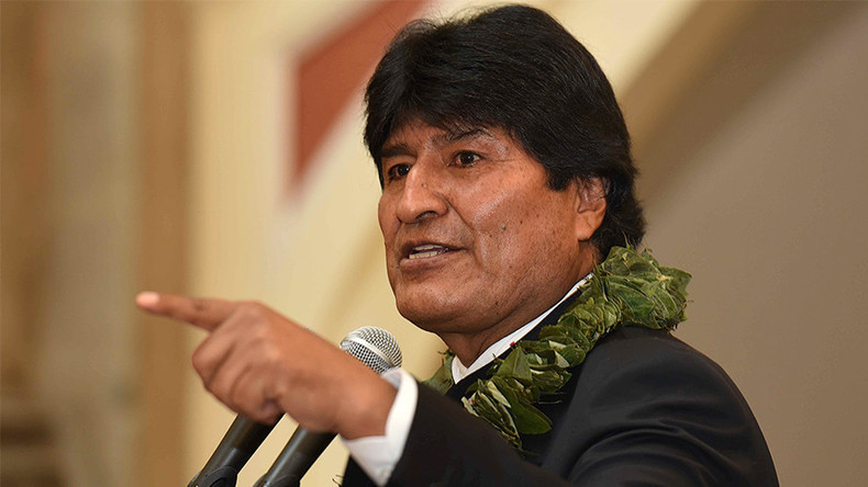 Der bolivianische Präsident Evo Morales