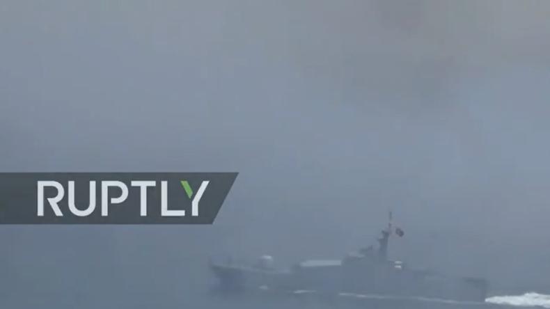 Live: Russisches Marineschiff sinkt nach Kollision vor Bosporus