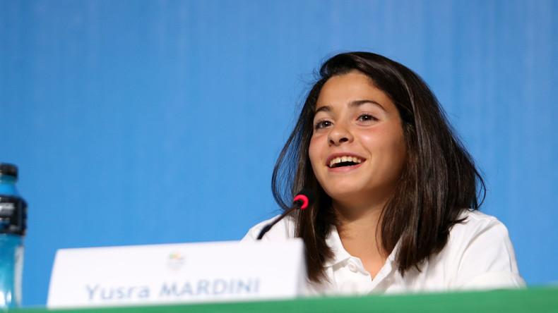 Syrische Schwimmerin Yusra Mardini wird UN-Sonderbotschafterin