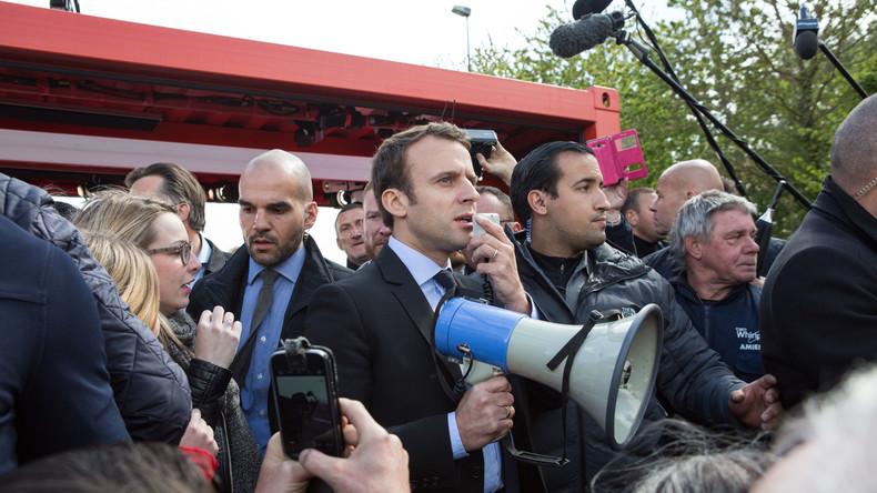 Macron in seinem Heimatort ausgebuht - Le Pen gefeiert