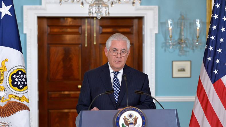 US-Außenminister Tillerson: China droht Nordkorea mit Sanktionen