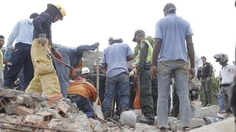 Hauseinsturz auf Baustelle in Kolumbien fordert mindestens fünf Menschenleben