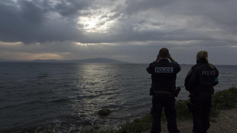 Polizei auf Lesbos räumt besetztes Gebäude und nimmt 23 Migranten fest