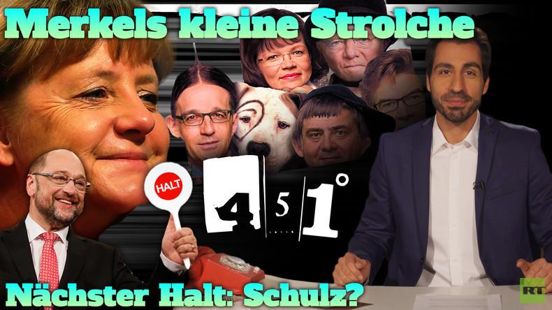 451 Grad || Merkels Gespann | Der Schulz-Zug rollt | 31