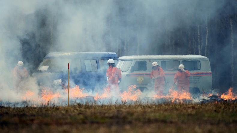 Waldbrände in Russland breiten sich weiter aus