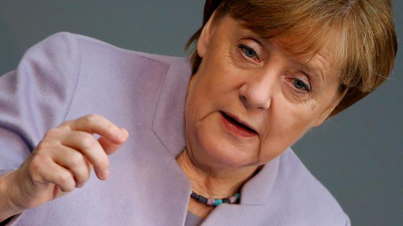 Angela Merkel weist Kritik am deutschen Exportüberschuss zurück