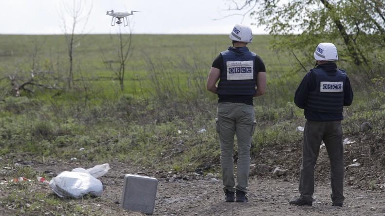 Lugansker Volksmilizen werfen ukrainischen Militärs Beschuss von OSZE-Mission vor