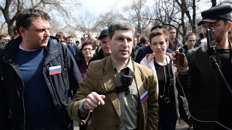 Illegale Kundgebung in Moskau versammelt 250 Protestler