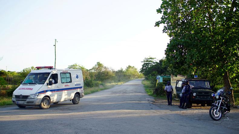 Acht Tote bei Absturz eines Militärflugzeugs in Kuba