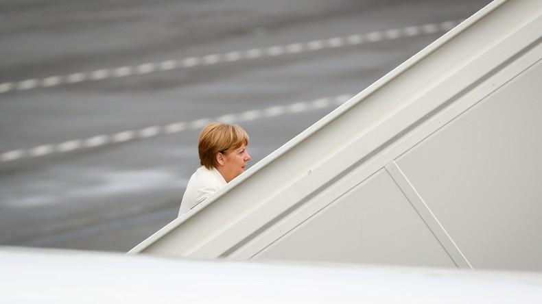 Angela Merkel fliegt nach Saudi-Arabien