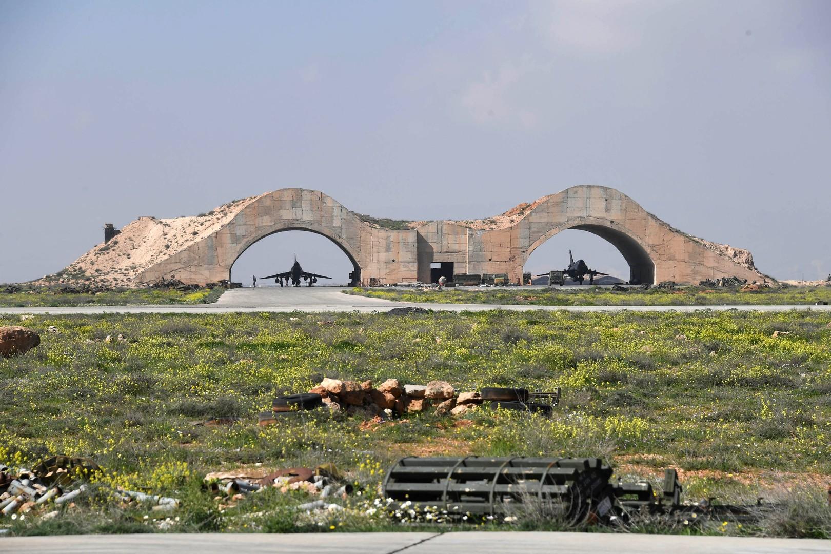 Syrischer Luftwaffenstützpunkt Al-Schairat vor dem US-Angriff