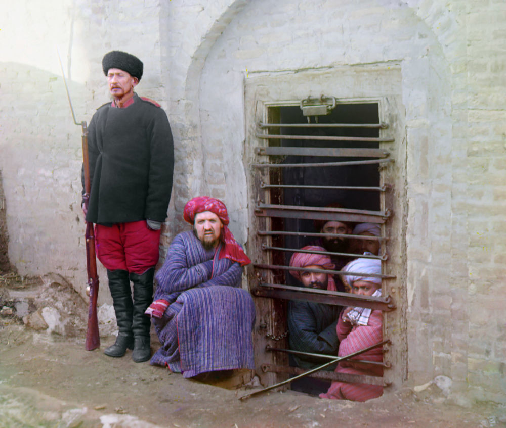 Zindan (ein traditionelles zentralasiatisches Gefängnis) in Buchara.