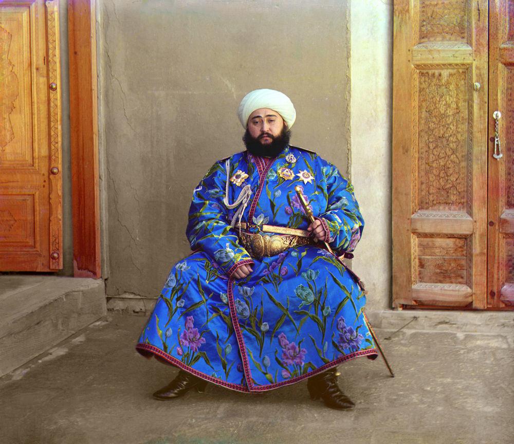 Mohammed Alim Khan, Emir von Buchara (Herrscher eines autonomen Vasallenstaates des Russischen Reiches).
