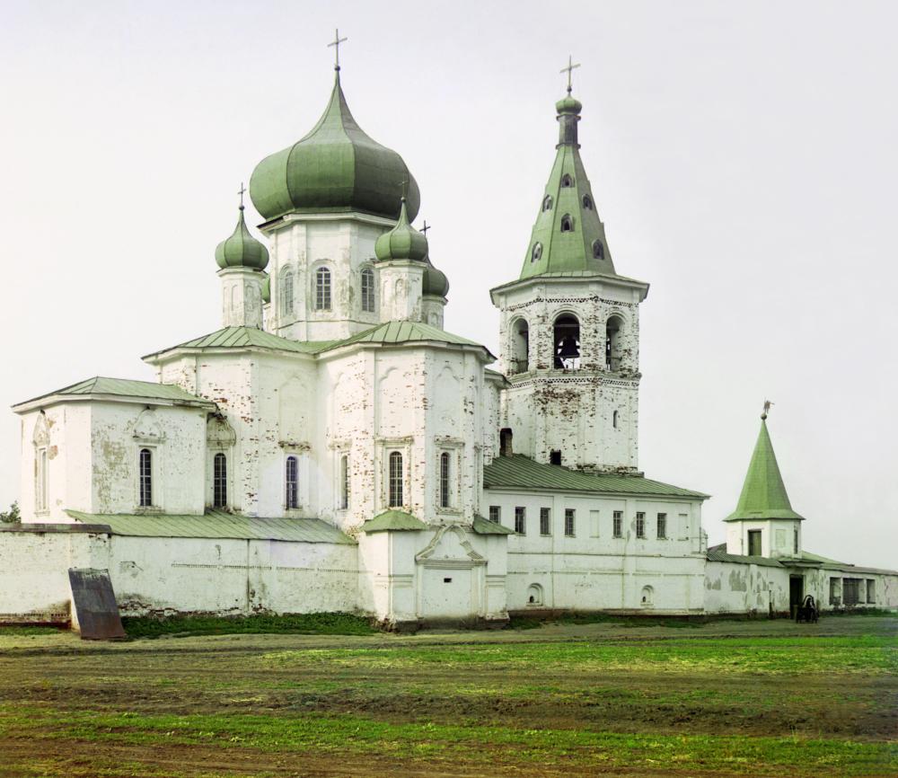 Das Kloster der Dreifaltigkeit in Tjumen.