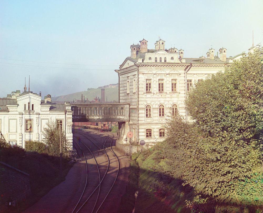 Sitz der Uraler Eisenbahnverwaltung, Perm.