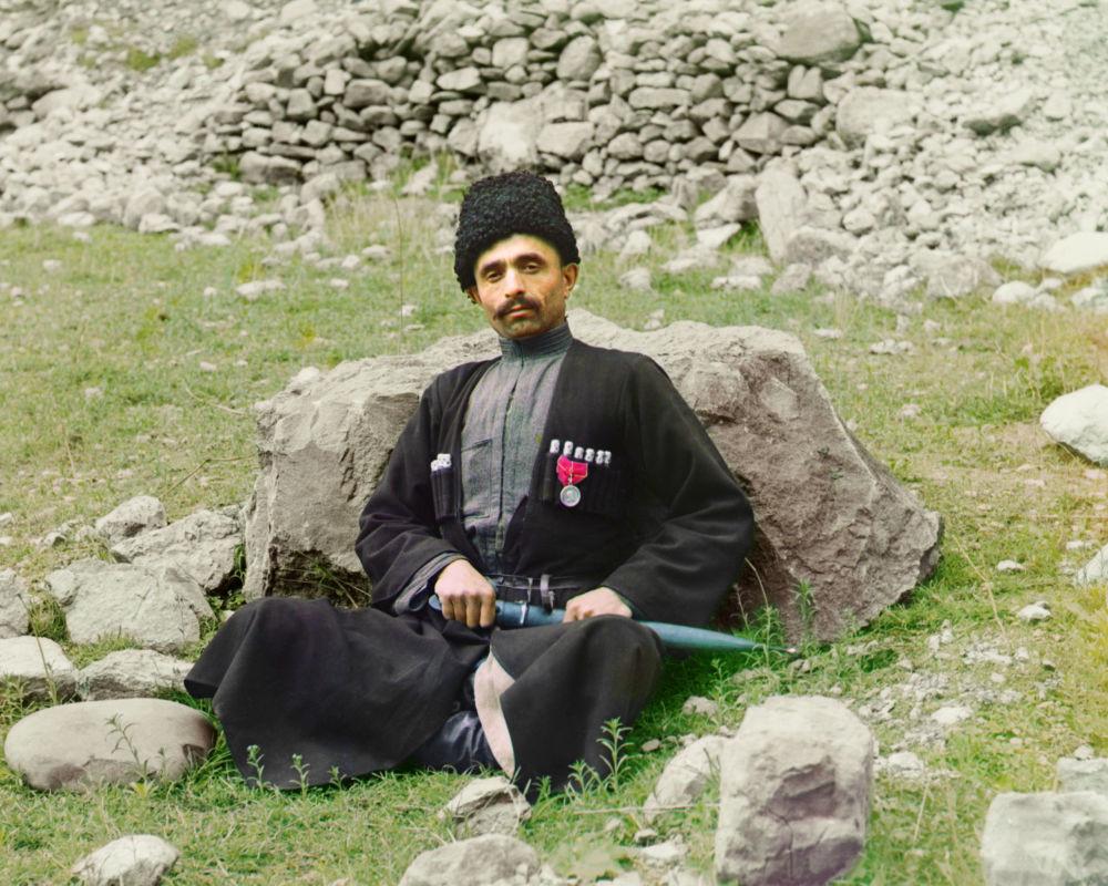 Ein Einwohner von Dagestan.