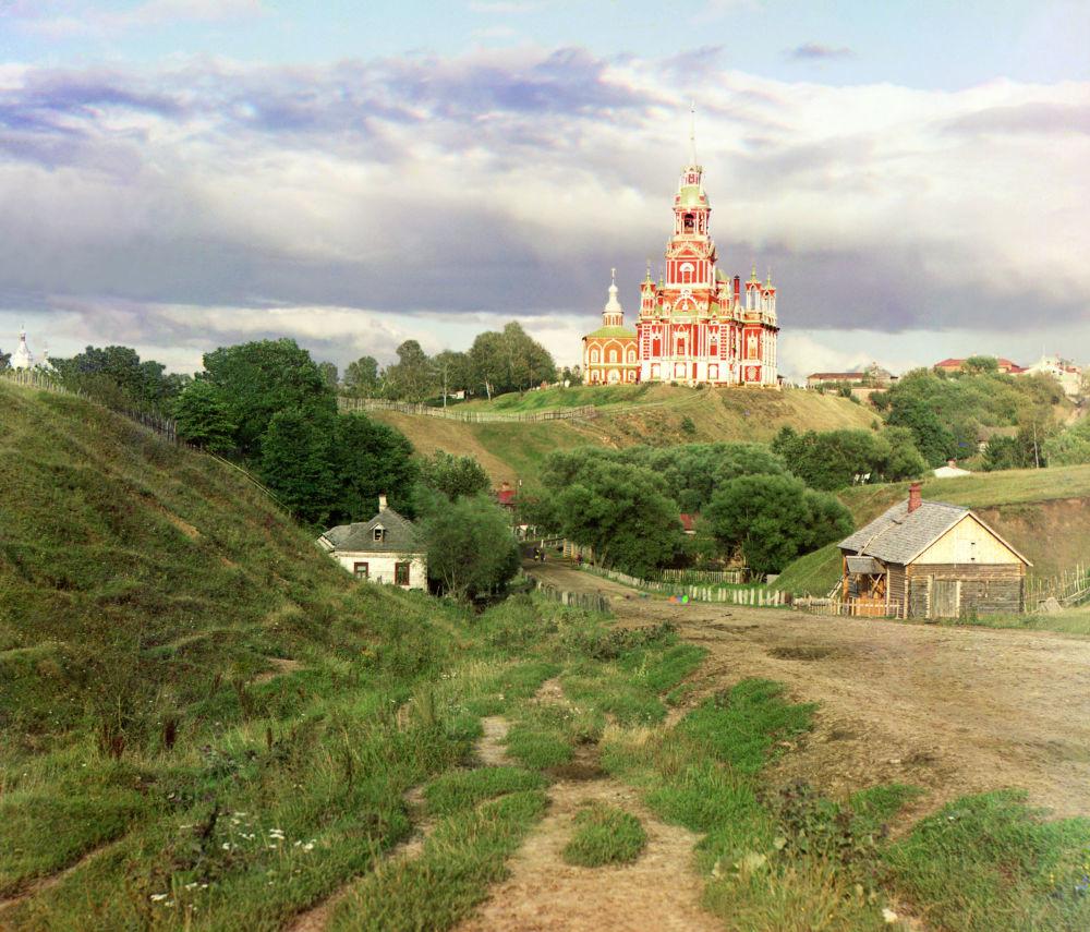 Die Kirche des Heiligen Nikolaus in Moschaisk.