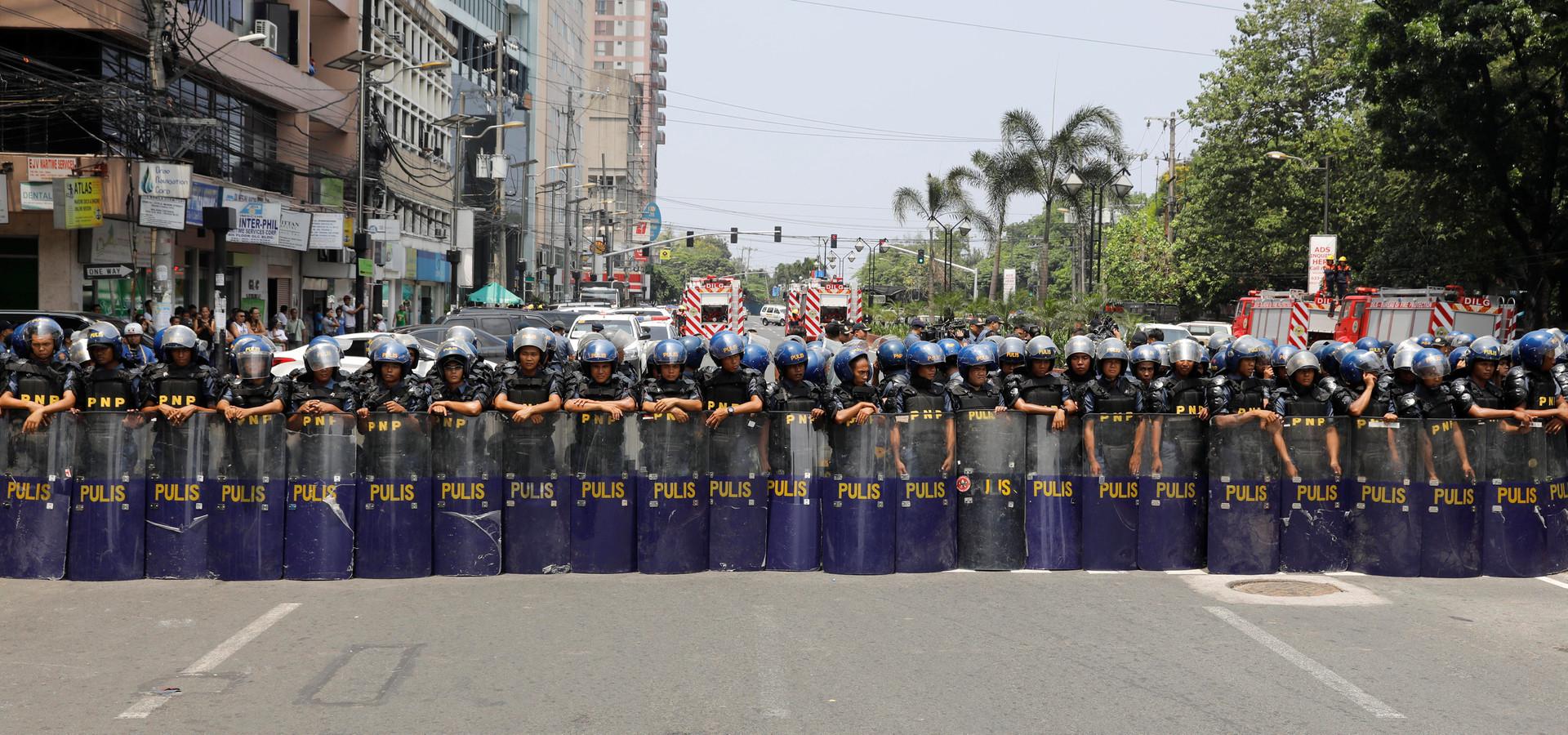 Asean-Staaten tagen unter strengem Polizeischutz in Manila