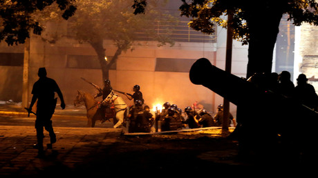 Demonstranten stürmen Parlamentsgebäude in Paraguay