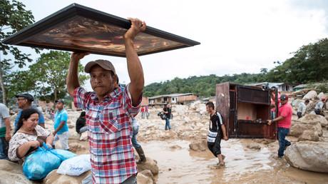 Kolumbiens Präsident weitet Nothilfe nach Schlammlawine aus