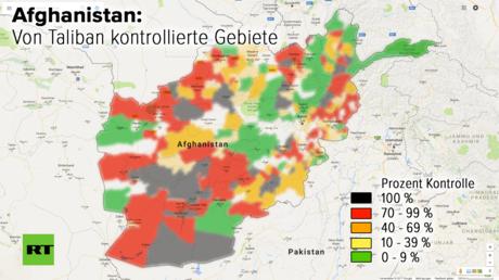 Kabul mit der international anerkannten Regierung als Rumpfstaat, um den herum sich unaufhaltsam der Wiederaufstieg der Taliban vollzieht? Die Entwicklungen der letzten Wochen verstärken diesen Eindruck. Defätistische Töne der Regierung Obama sollen die Gotteskrieger zusätzlich ermuntert haben.