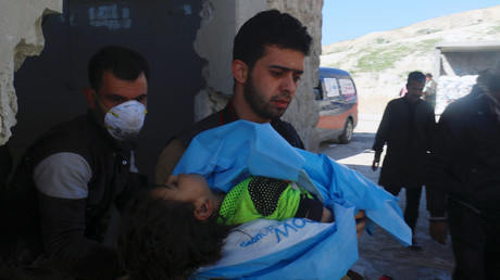 Russischer Militärsprecher: Giftgas-Todesfälle durch syrischen Luftangriff auf Terroristen-Depot