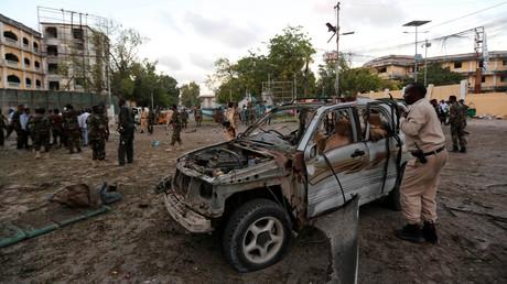 Autobomben-Explosion in Mogadischu fordert mindestens fünf Menschenleben (Archivbild)