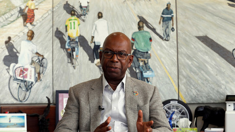 Robert Collymore, Vorstandsvorsitzender des kenianischen Telekom-Unternehmens Safaricom.