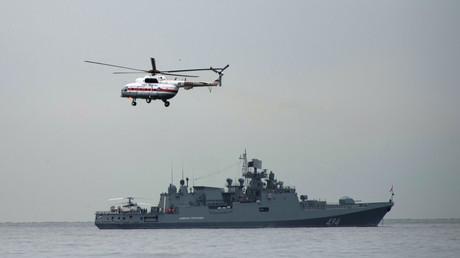 Russland schickt seine Fregatte Admiral Grigorowitsch ins Mittelmeer zurück