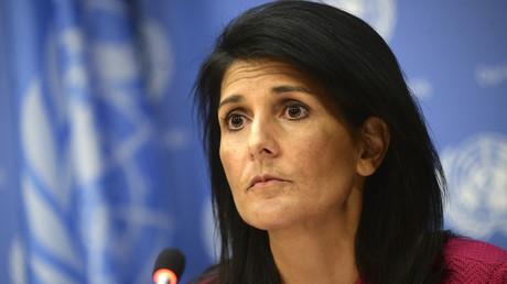 """US-Diplomatin Nikki Haley: """"Al-Assads Absetzung bleibt für die USA Priorität"""""""